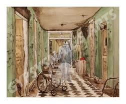 Aged Hospice1_Original1_PostCard1Smlr1