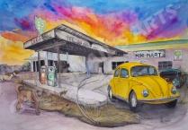 taxi abandoned petrol stn II_Best2Smlst