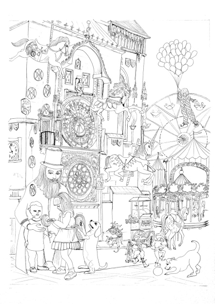Carnival in Prague10pentacles_LineArt1SML