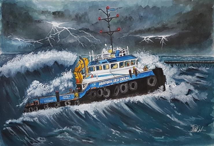 stormy seas boat di briffa commissn1SML